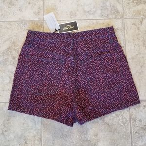 Juicy Couture Shorts - NWT JUICY COUTURE BLACK LABEL BLUE MOM JEAN SHORTS